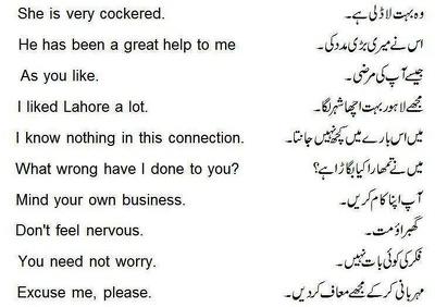 Translate English To Urdu 1200 Words
