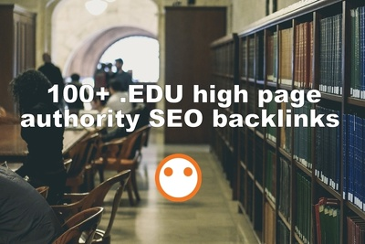 Do 100+ .EDU high page authority SEO backlinks - BONUS hourlie