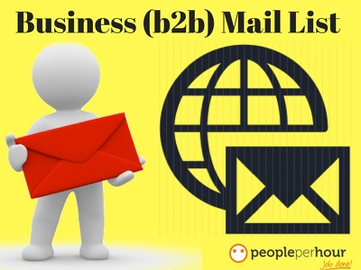 Collect Business Email List And Targeted Email List