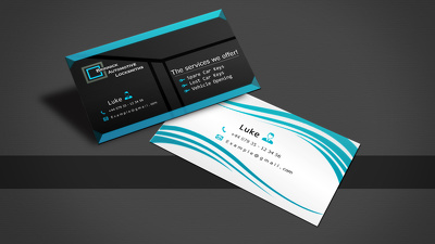 Do a company or brand  business card for you within 6 hour