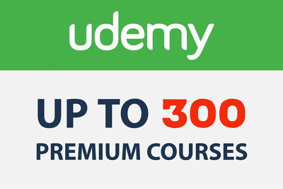Add Up To 300 Premium Courses To Your Udemy Account