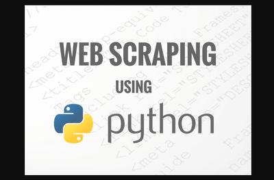 Build you a web scraper