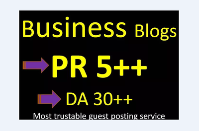 Guest Post In PR 5 Business Blog