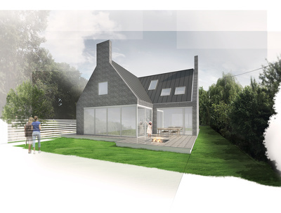 Make unique and artistic visualization of your exterior design