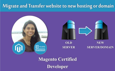 Migrate and transfer website to new hosting or domain