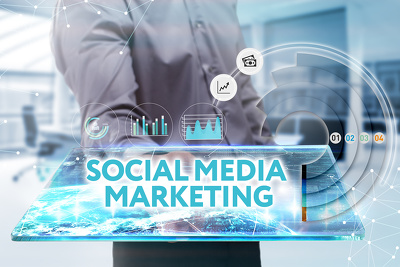 Manage your social media account for 1 month posting daily