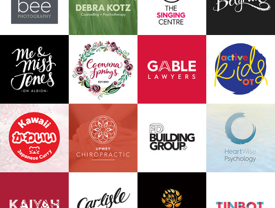 Design a modern logo with unlimited concepts+business card