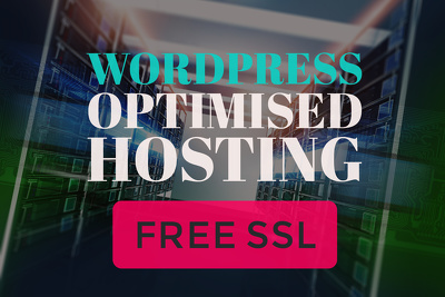 12 Months UK Wordpress Optimised Web Hosting with SSL