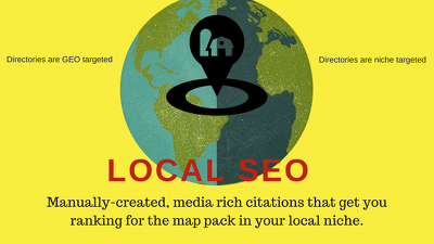Manually build media rich 40 citation in your local niche SEO