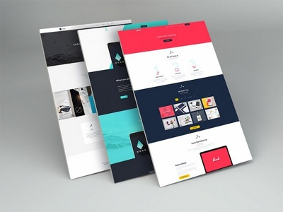 Design the Best Quality Website Design Mock ups