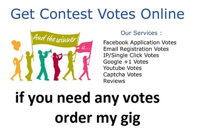 Promote Your Online IP Vote And Contest Excellently 250