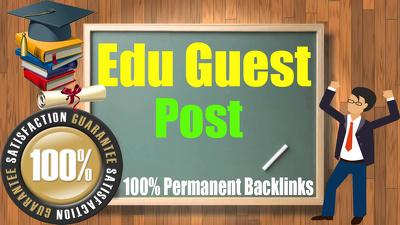 Do Premium Quality Guest Post on edu site ( DA87 )With Do-Follow