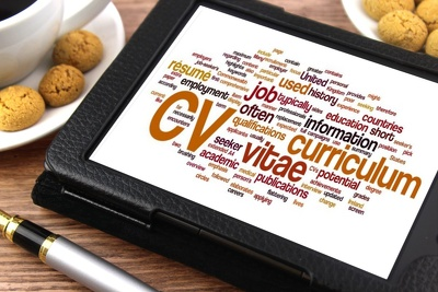 Write your CV to help when applying for a job