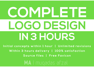 Design best logo in 3 hours