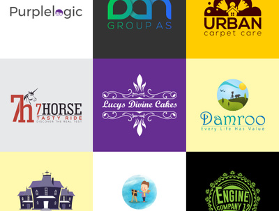 3 Magnetic Logo + unlimited revisions + delivery in 4 hours