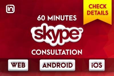 60 Minute Skype/Phone Consultation