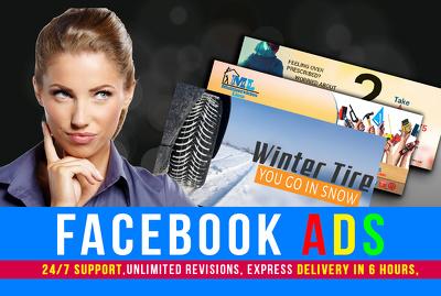Design Banner Ads, FB Ads, Web Ads, Billboards
