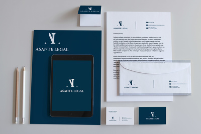 Design a STUNNING business card and letter