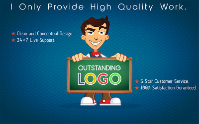 Design An Outstanding Logo In A Short Time