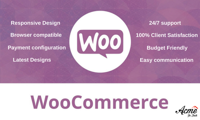 Set up responsive Woocommerce/WordPress store