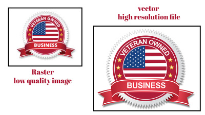 Vectorize and convert your logo image draw to vector file .ai