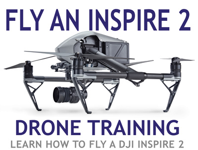 DRONE LESSONS How to fly a DJI Inspire 2 Safely and Shoot Video