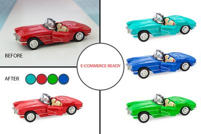 Make photos e-commerce ready (set of 10)