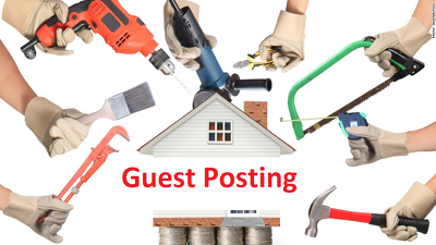 Submit 10 guest posting on home improvements blog