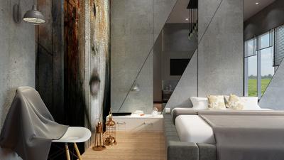 Make 3d realistic interior design for 40$ per view