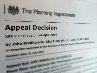 Appeal your refused Planning Application