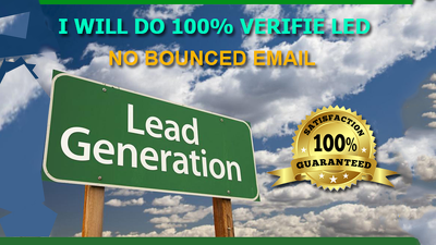 Collect 100% valid 100 leads of any person in 24 hrs