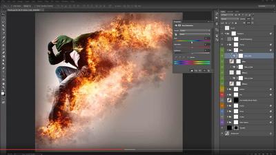 Teach you online Adobe Photoshop