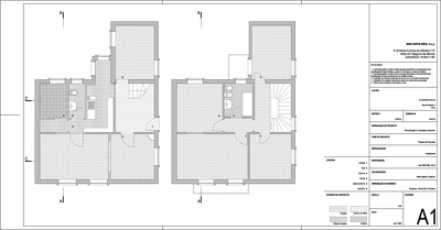 Redraw a plan, elevation or section from pdf or image file