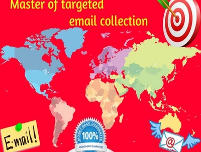 Provide you b2b and targeted email list in your any niche
