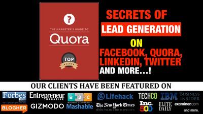 Share my secrets of Marketing on Social media - Quora Facebook