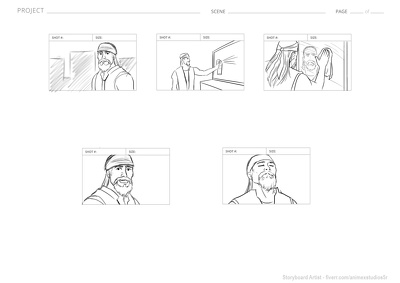 Produce professional DIRECTOR STORYBOARD