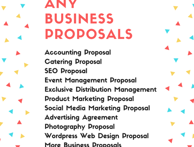 Create A Professional Business Proposal For Your Customers
