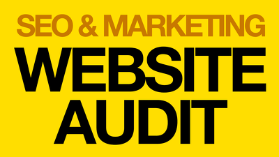 Audit your website for SEO / Marketing & give actionable report