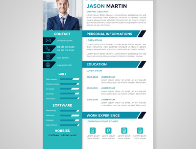 Design Your Resume Or CV In Just 6hr