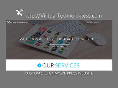 Design and develop 20 page small business website