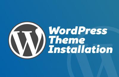 Install WordPress theme like demo / Setup hosting / Move website
