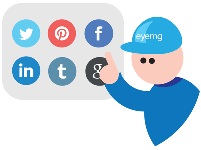 Add Social links to your site