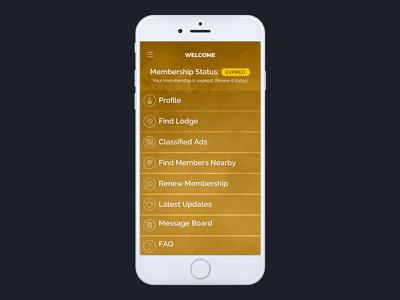 Design prototype iPhone / iPad / Android app