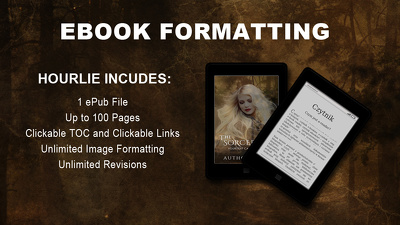Format Your Book into an eBook for Kindle