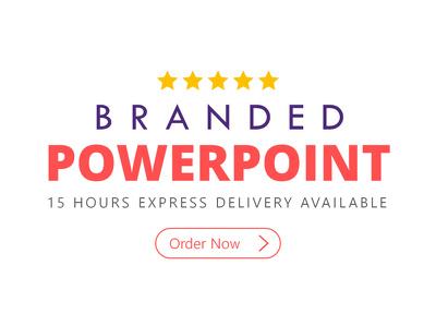 create Branded Powerpoint Presentation