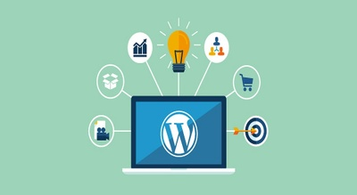 Install wordpress with your selected theme