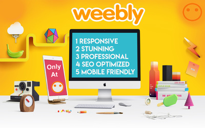 Develop A Professional And Responsive Weebly Site