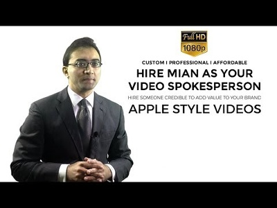 Produce an Apple Style Video Commercial in Full HD