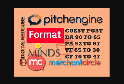 Guest Post On Pitchengine, Merchantcircle, Minds And Format