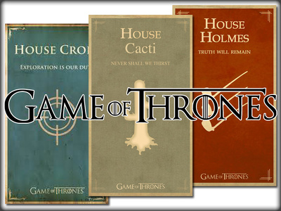Personalised Game of Thrones Sigil Design...